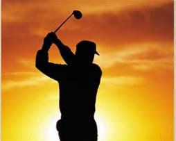 golfersunset